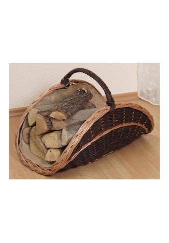 HOFMANN LIVING AND MORE Kaminholzkorb, mit herausnehmbarem Jutesack kaufen