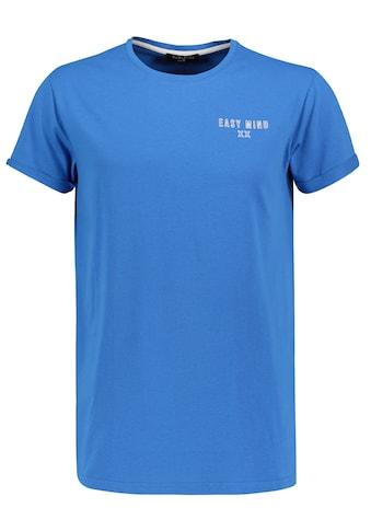 SUBLEVEL Rundhalsshirt, mit kleinem Print kaufen