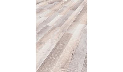 ter Hürne Laminat »Eiche sägerau-grauweiß«, mit fühlbarer Oberfläche und Klicksystem kaufen