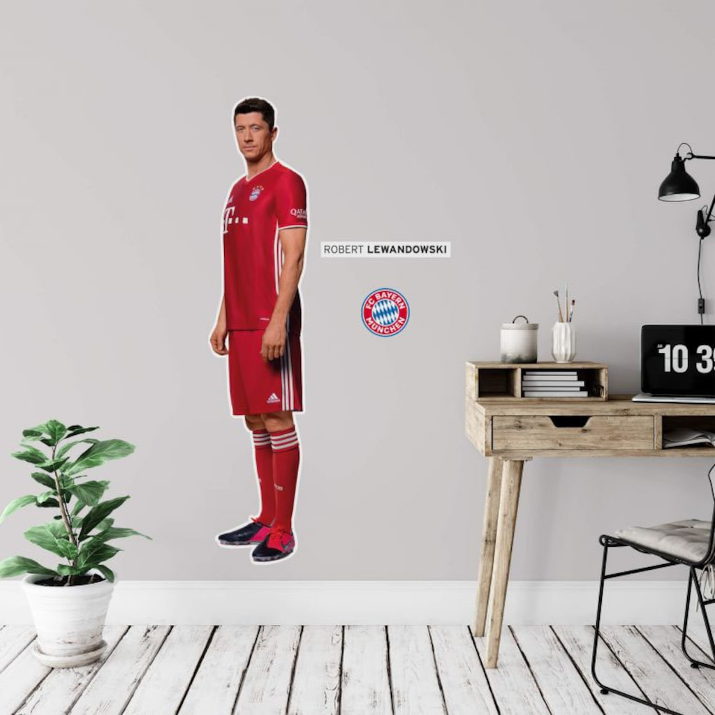 Wall-Art Wandtattoo »FCB Robert Lewandowski«