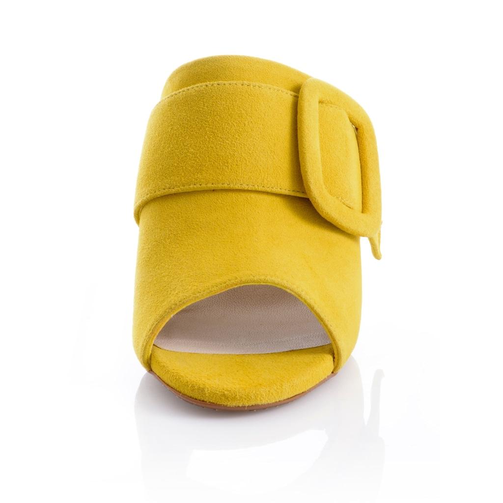 Alba Moda Pantolette, mit Zierriemchen