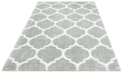 Leonique Hochflor-Teppich »Soraya«, rechteckig, 40 mm Höhe, Pastelfarben, Wohnzimmer kaufen