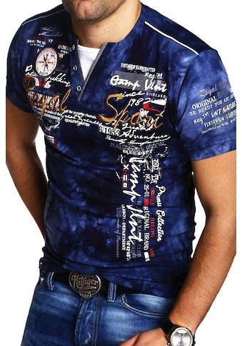 behype T-Shirt »P-CAROY«, in trendiger 2-in-1-Optik kaufen