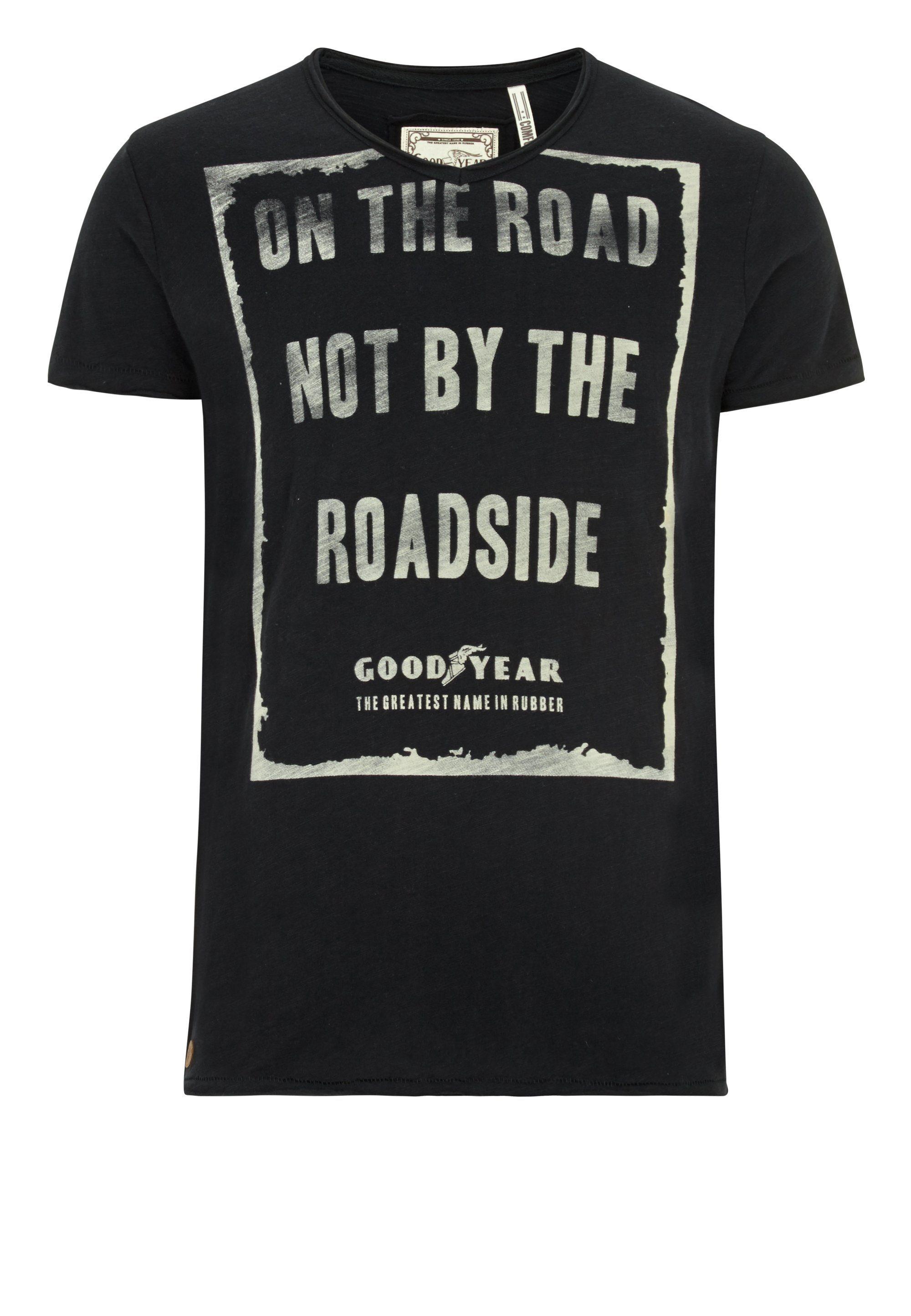 Goodyear T-Shirt GALESBURG | Bekleidung > Shirts | Schwarz | Baumwolle | Goodyear