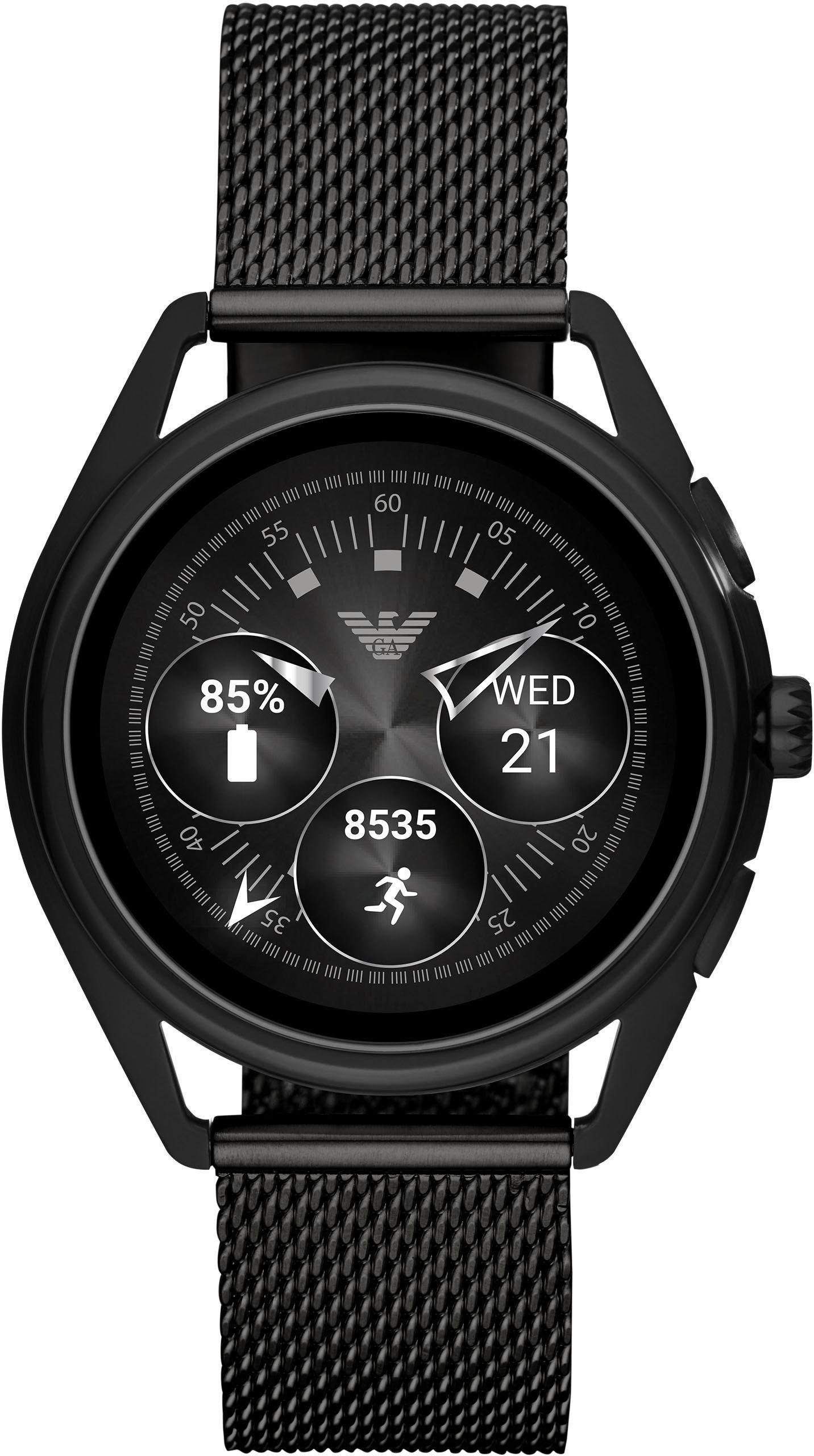 EMPORIO ARMANI CONNECTED ART5019 Smartwatch ( 1,19 Zoll, Wear OS by Google) | Uhren > Smartwatches | Emporio Armani Connected
