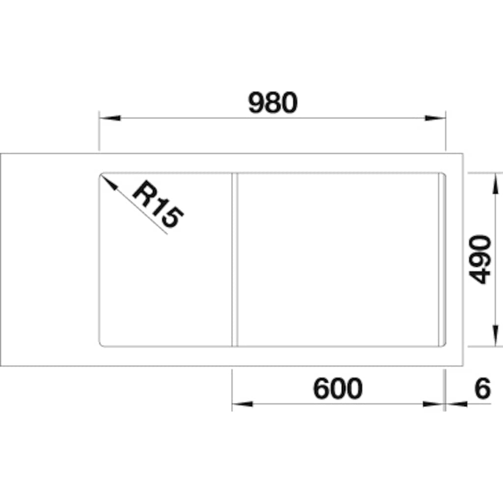Blanco Küchenspüle »DIVON II 6 S-IF«