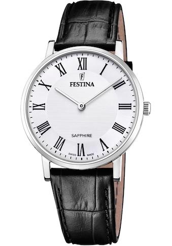Festina Schweizer Uhr »Festina Swiss Made, F20012/2« kaufen