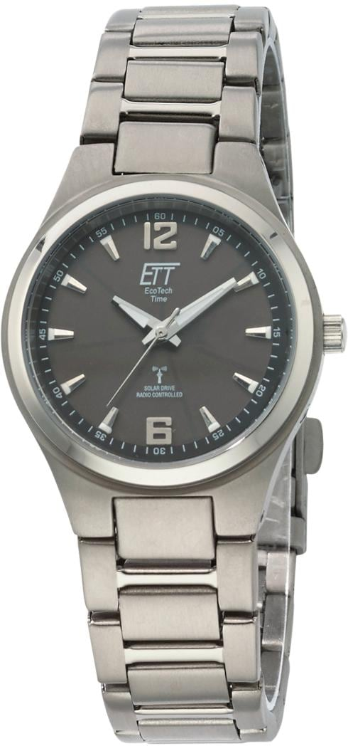 ETT Funkuhr Everest 2 ELS-11326-11ME (Set 2 tlg Uhr mit Ladelampe) | Uhren > Funkuhren | Ett