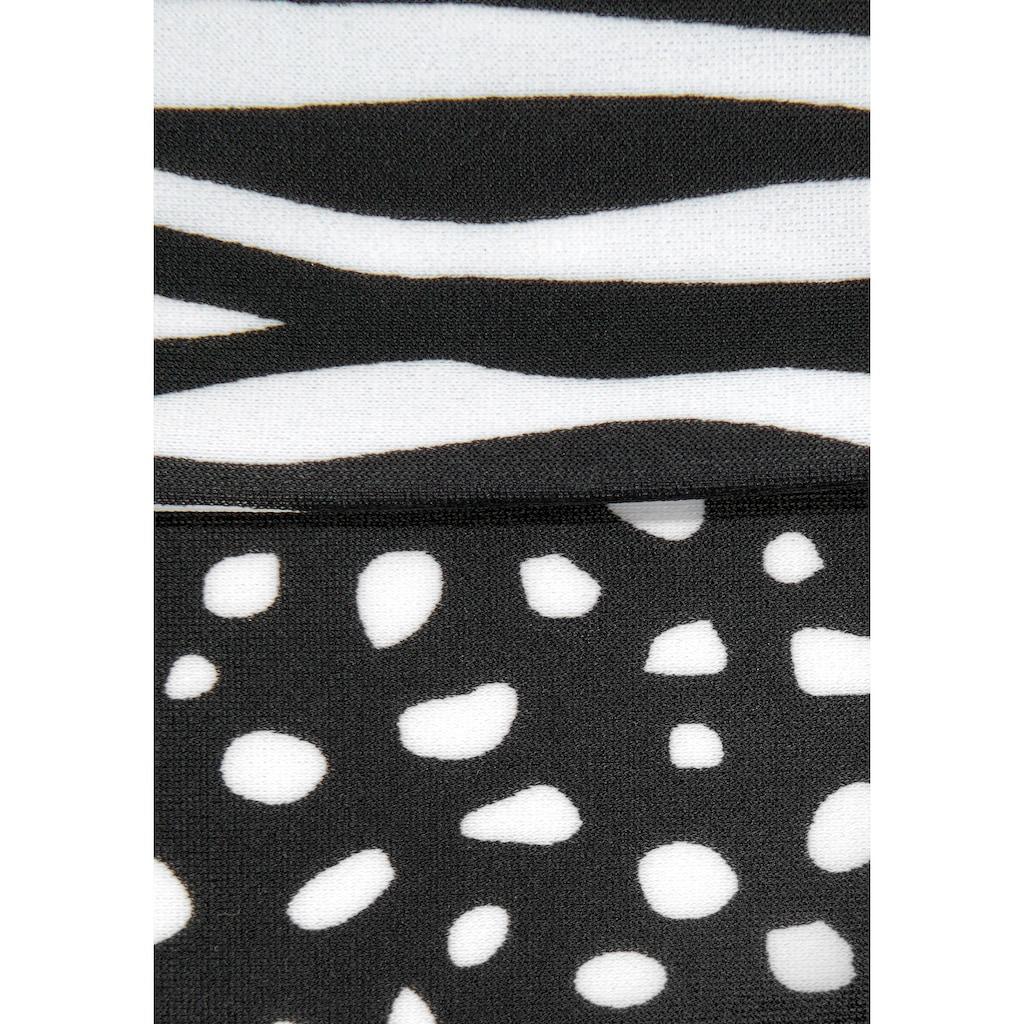 LASCANA Bikini-Hose »Safari«, mit seitlichen Bindebändern