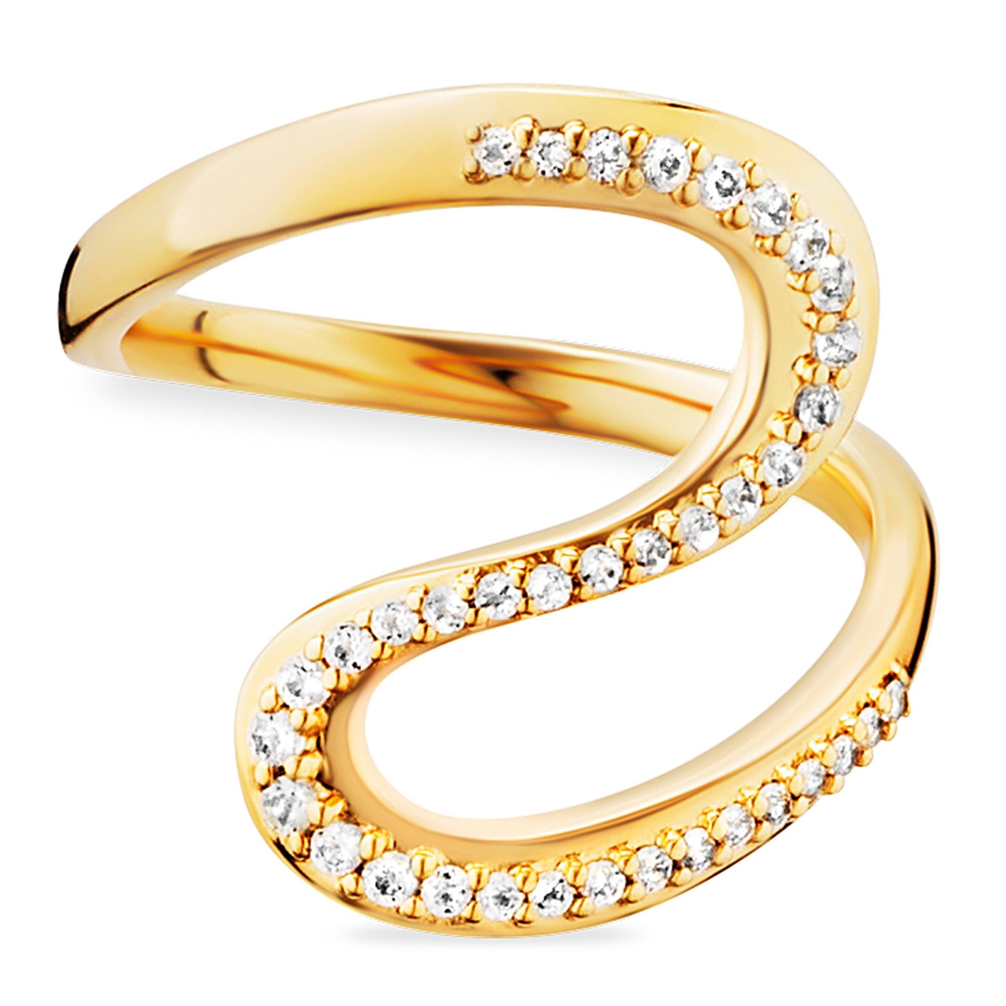 CAÏ Ring 925/- Sterling Silber gelb vergoldet Topas | Schmuck > Ringe > Silberringe | Caï