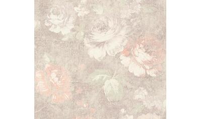 living walls Vliestapete »Secret Garden«, floral-geblümt, mit Rosen, romantisch kaufen