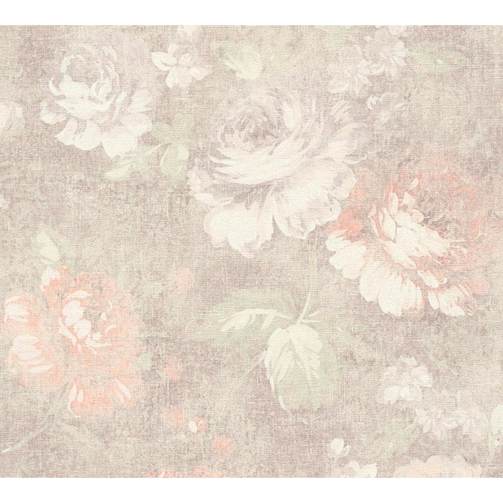 living walls Vliestapete »Secret Garden«, floral-geblümt, mit Rosen, romantisch