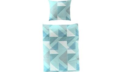 BIERBAUM Bettwäsche »Blue Graphic«, mit graphischem Muster kaufen