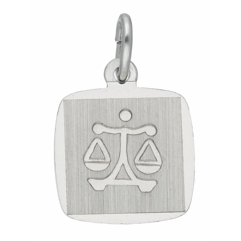 Adelia´s Kettenanhänger »925 Silber Sternzeichen Anhänger Waage«