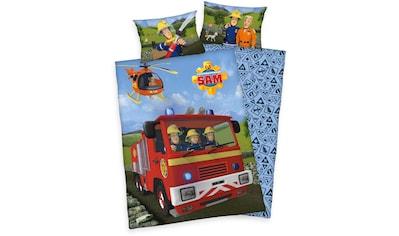 Babybettwäsche »Feuerwehrmann Sam«, Feuerwehrmann Sam kaufen