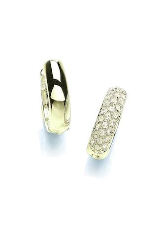 Buckley London Creolen »vergoldet mit Kristallen« kaufen