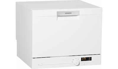 SIEMENS Tischgeschirrspüler iQ300, 8 Liter, 6 Maßgedecke kaufen
