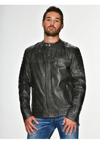 MUSTANG Lederjacke »James« kaufen