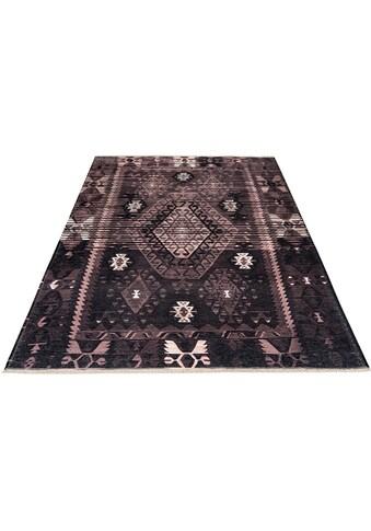 Obsession Teppich »My Ethno 262«, rechteckig, 6 mm Höhe, recycelte Materialien, mit... kaufen