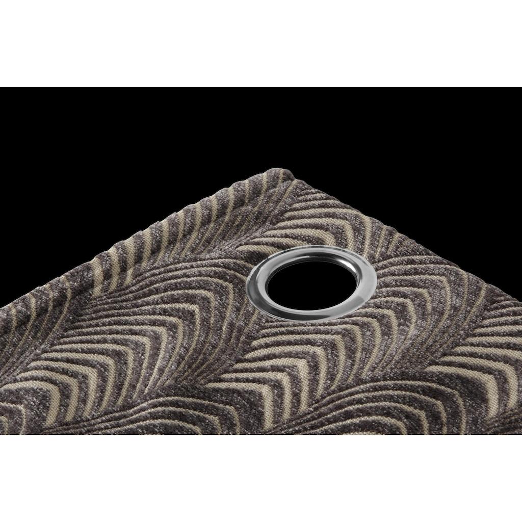 Leonique Vorhang »CHENILLE«