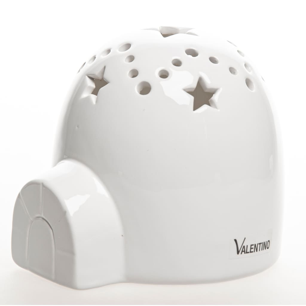 VALENTINO Wohnideen LED Dekoobjekt »IGLU mit Sternenhimmel«, Warmweiß