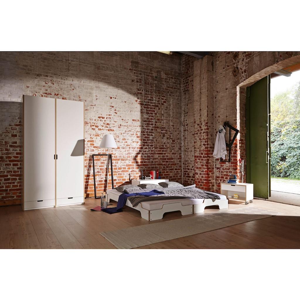 Müller SMALL LIVING Stapelbett »STAPELLIEGE Komfort ( eine Liege)«, Gestell: Komforthöhe 27.5 cm, ausgezeichnet mit dem German Design Award - 2019