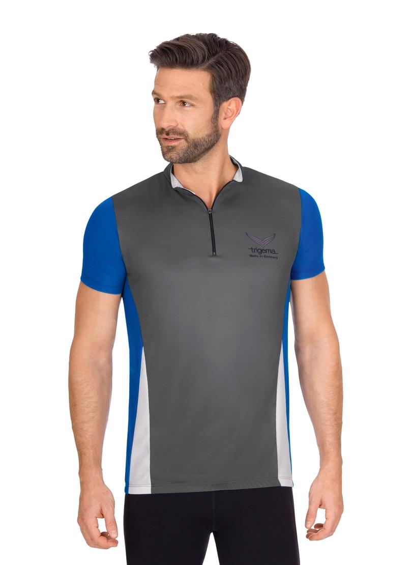 Trigema Fahrradtrikot aus COOLMAX-Material   Sportbekleidung > Trikots > Fahrradtrikots   Trigema