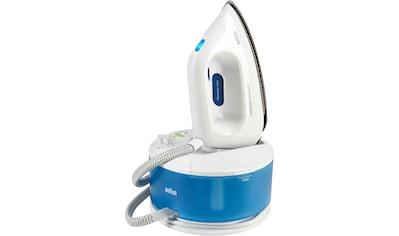 Braun Dampfbügelstation »CareStyle Compact IS 2043, blau«, max. Dampfmenge 350g/min, Rückwärtsbügeln über Knöpfe kaufen