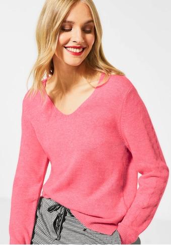 STREET ONE V - Ausschnitt - Pullover »Cosy V - Neck« kaufen