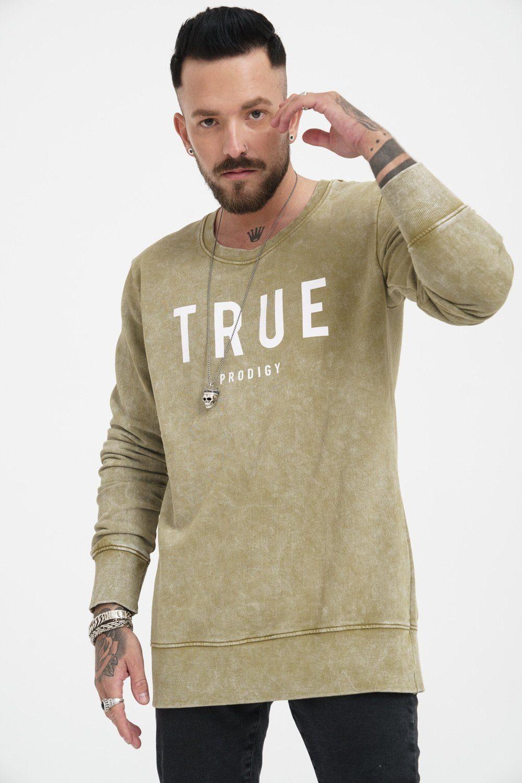 trueprodigy Sweatshirt Curt   Bekleidung > Sweatshirts & -jacken > Sweatshirts   Schwarz   Trueprodigy