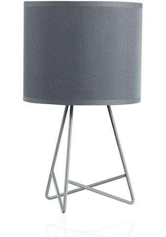 Pauleen Tischleuchte »Shiny Star«, E14, Stoffschirm, Grau kaufen