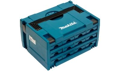 Makita Werkzeugbox »P-84327 MAKSTOR Modell 3.12«, 12 Schubladen, 395x295x215 mm kaufen