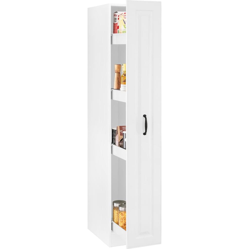 wiho Küchen Apothekerschrank »Erla«, Auszug mit 4 Ablagefächern