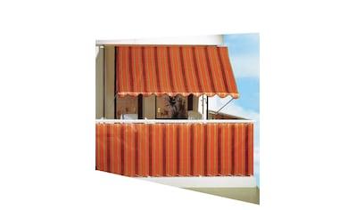 Angerer Freizeitmöbel Balkonsichtschutz, Meterware, braun, H: 75 cm kaufen