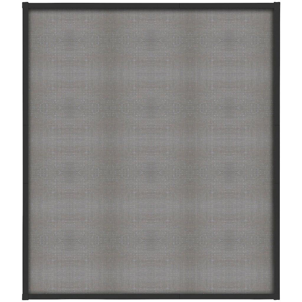 hecht international Insektenschutz-Fenster »FAST«, anthrazit/anthrazit, BxH: 120x140 cm