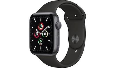 Apple Watch »SE GPS, Aluminiumgehäuse mit Sportarmband 44mm«, (inkl. Ladestation... kaufen