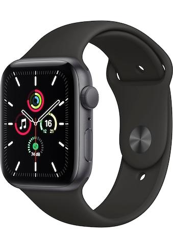Apple Watch »SE GPS, Aluminiumgehäuse mit Sportarmband 44mm«, ( inkl. Ladestation... kaufen