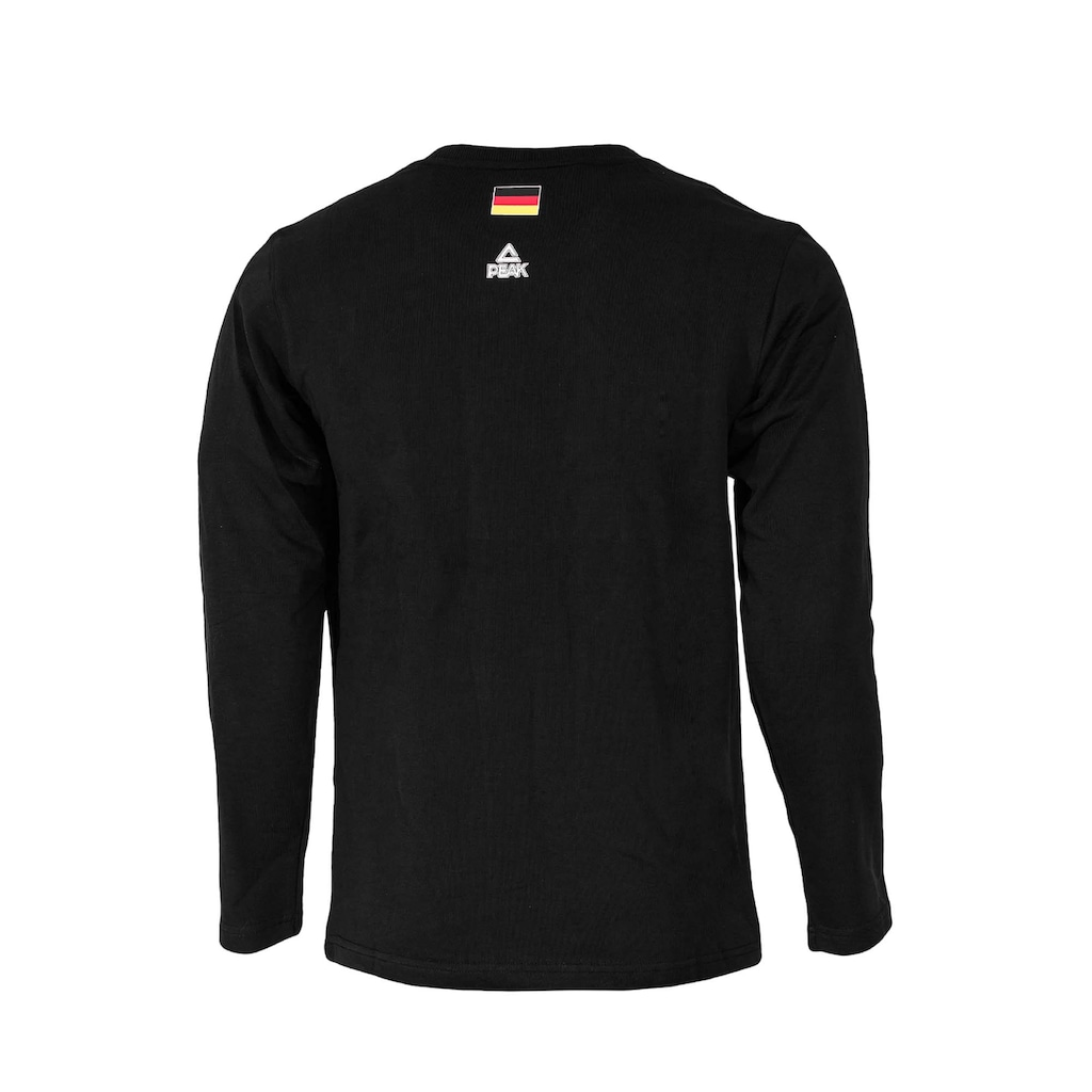 PEAK Rundhalspullover »Germany 2015«, mit dezentem Logo