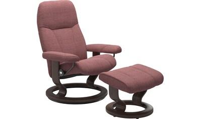 Stressless® Relaxsessel »Consul«, mit Hocker, mit Classic Base, Größe L, Gestell Wenge kaufen