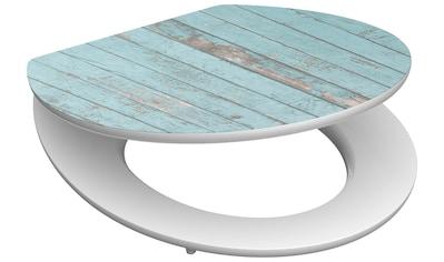 SCHÜTTE WC - Sitz »Blue Wood«, mit Absenkautomatik kaufen