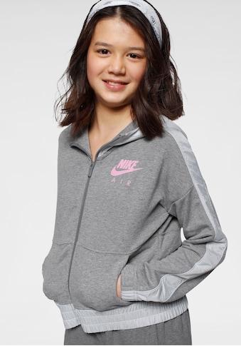 Nike Sportswear Kapuzensweatjacke »Nike Air Big Kids Girls Full - Zip Hoodie« kaufen