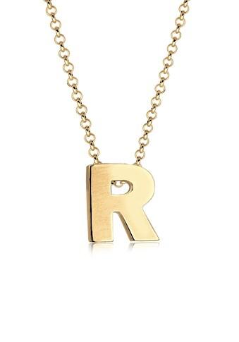 Elli Collierkettchen »Buchstabe R Initialen Trend Minimal 925 Silber« kaufen