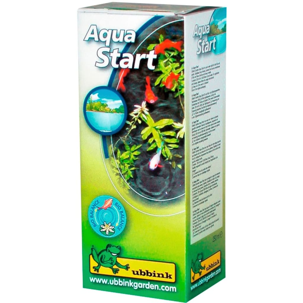Ubbink Teichfolie »AquaLiner 1 mm«, Teichstarterset mit Vlies, Pumpe
