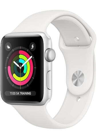 Apple Series 3 GPS, Aluminiumgehäuse mit Sportarmband 38mm Watch (Watch OS 5) kaufen