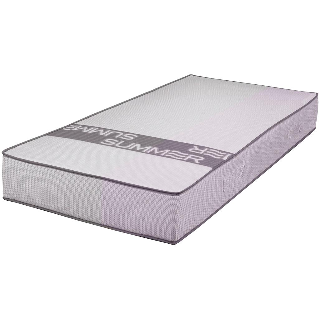 Breckle Taschenfederkernmatratze »SMARTSLEEP® 7000«, 23 cm cm hoch, 1000 Federn, (1 St.), 7-Zonen Tonnentaschenfederkern, druckentlastend, Sommer- und Winterseite, Made in Germany