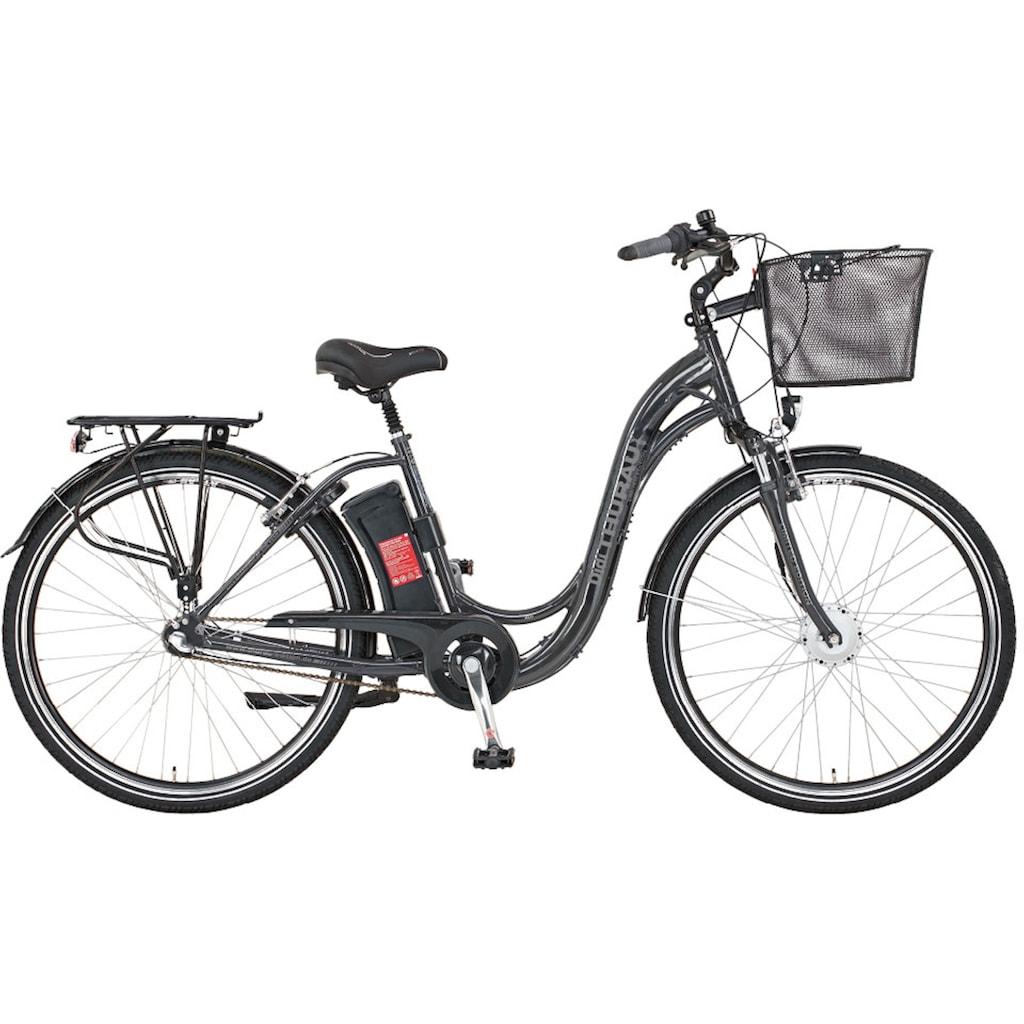 Didi THURAU Edition E-Bike »Alu City Comfort 3 Plus«, (mit Schloss)