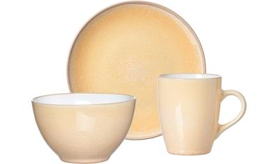 """Ritzenhoff & Breker Frühstücks - Set """"Nancy"""" (3 - tlg.), Steinzeug kaufen"""
