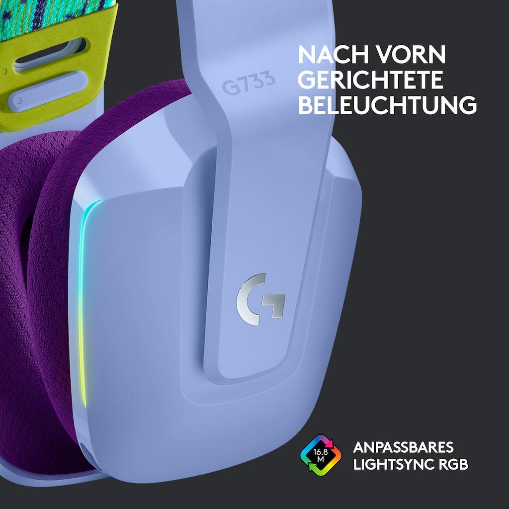 Logitech G Gaming-Headset »G733 LIGHTSPEED Wireless RGB«