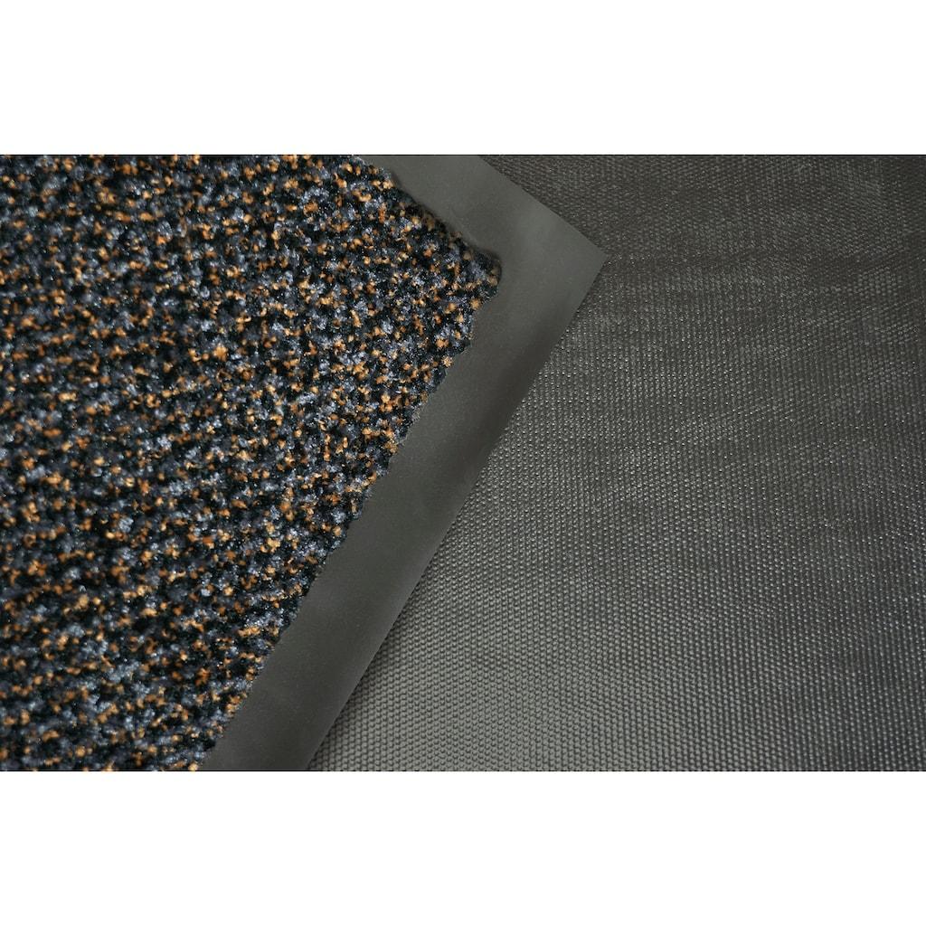 ASTRA Fußmatte »Graphit 635«, rechteckig, 8 mm Höhe, Fussabstreifer, Fussabtreter, Schmutzfangläufer, Schmutzfangmatte, Schmutzfangteppich, Schmutzmatte, Türmatte, Türvorleger, In -und Outdoor geeignet