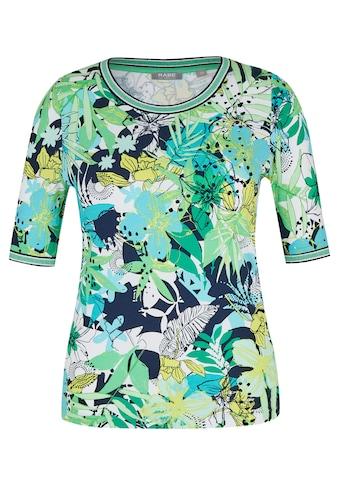 Rabe T - Shirt mit Allover - Print und Glitzergarn kaufen